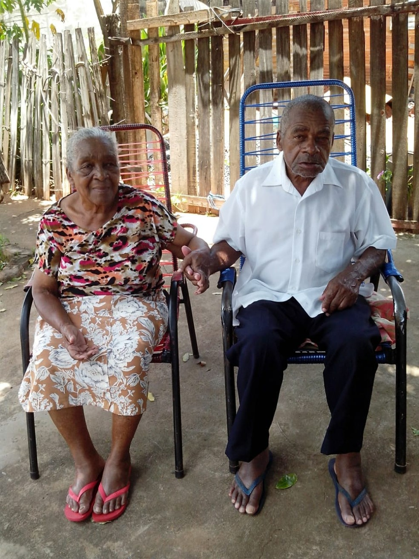 Mãe e pai de Fabiano Moreira Gomes moram em Olímpia, SP — Foto: Marta Gomes Dias