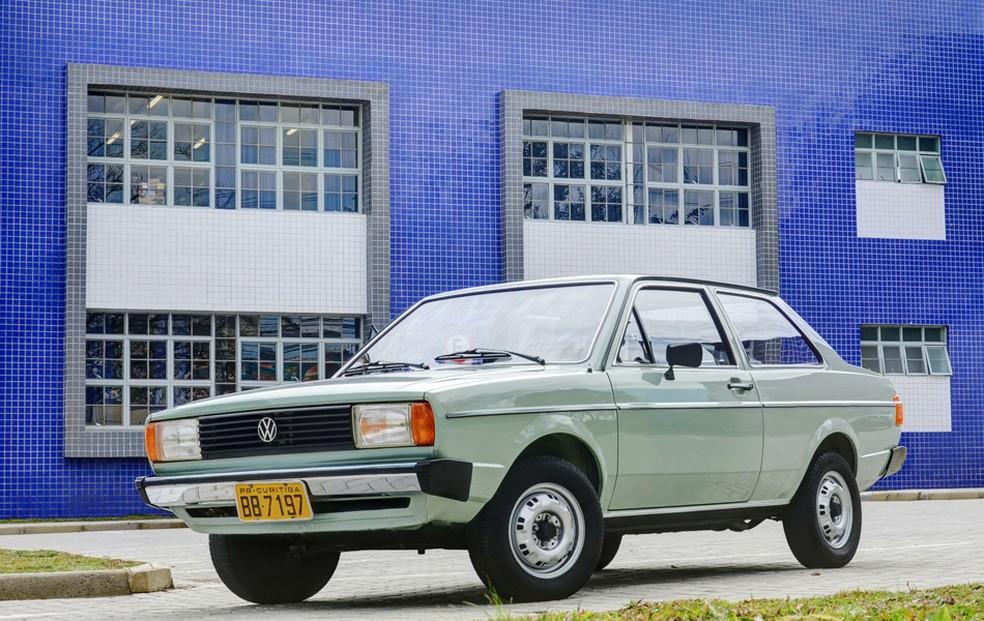 Volkswagen Voyage LS 1981 — Foto: Camilo Fontana/G1
