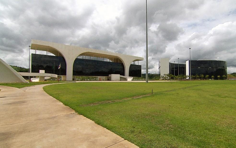 Cidade Administrativa Presidente Tancredo Neves, em Belo Horizonte — Foto: Reprodução/TV Globo