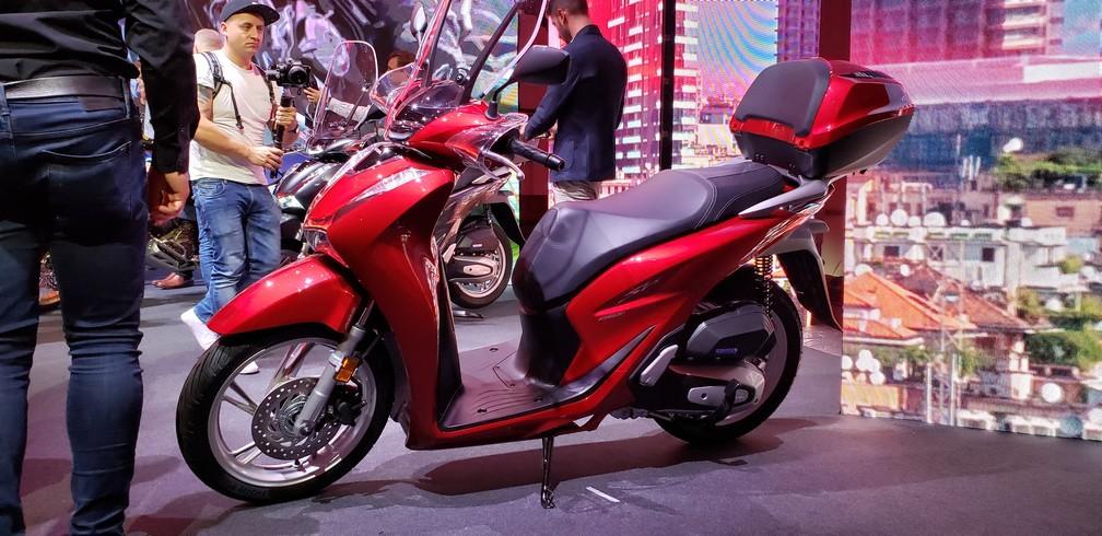 Honda SH150 — Foto: Rafael Miotto/G1