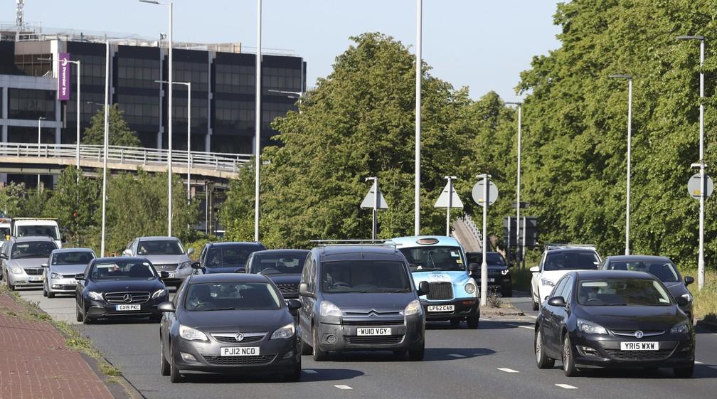 Londres proibirá carros no centro para estimular caminhadas e ciclismo — Foto: Jonathan Brady / PA via AP