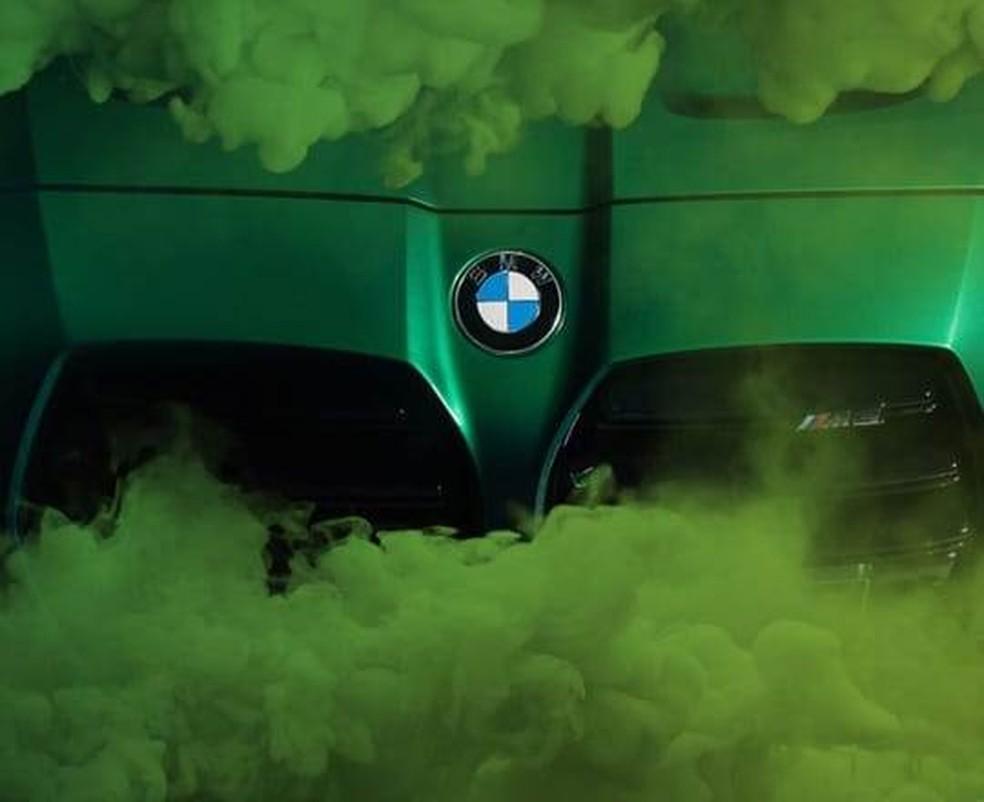 BMW M3 — Foto: Reprodução/BMW