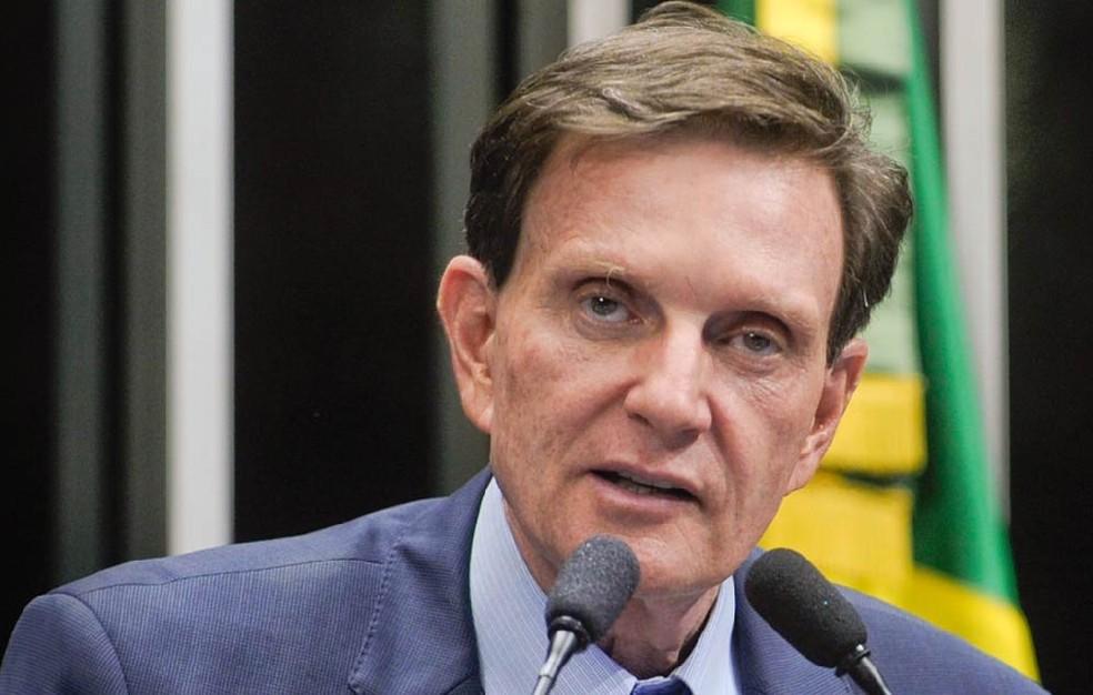 O prefeito do Rio de Janeiro, Marcelo Crivella (PRB) — Foto: Moreira Mariz/Agência Senado