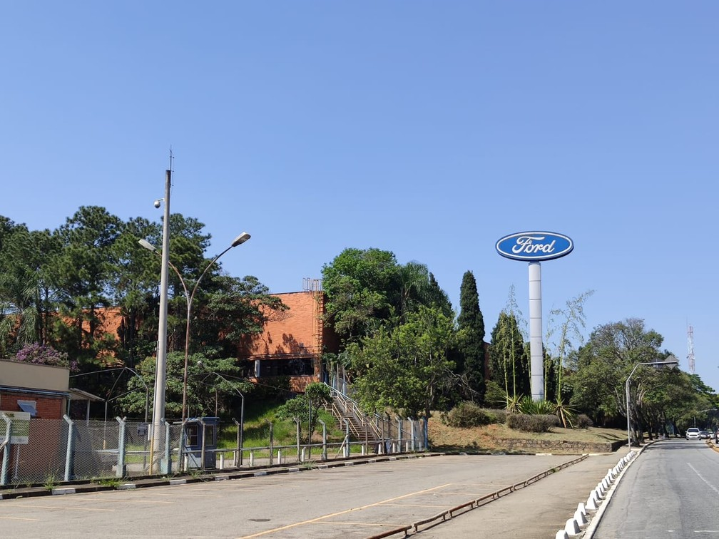 Antiga fábrica da Ford em São Bernardo do Campo, que encerrou as atividades em 30 de outubro de 2019 — Foto: André Paixão/G1