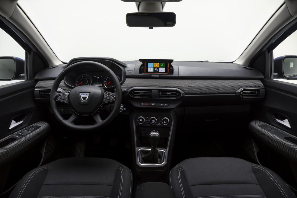 Dacia Sandero — Foto: Divulgação/Renault