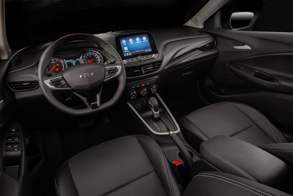 Chevrolet Onix Plus Midnight — Foto: Divulgação