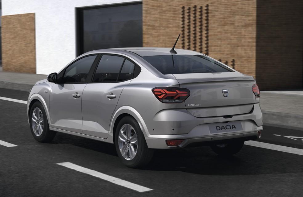 Dacia Logan — Foto: Divulgação/Renault