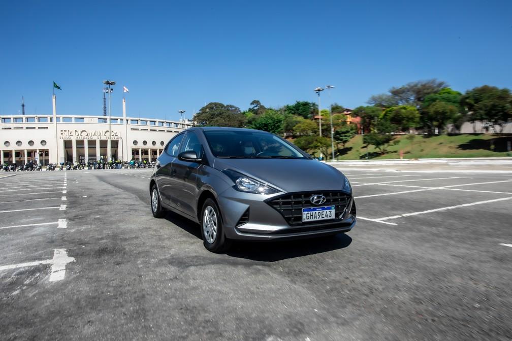 Hyundai HB20 Sense — Foto: Celso Tavares/G1
