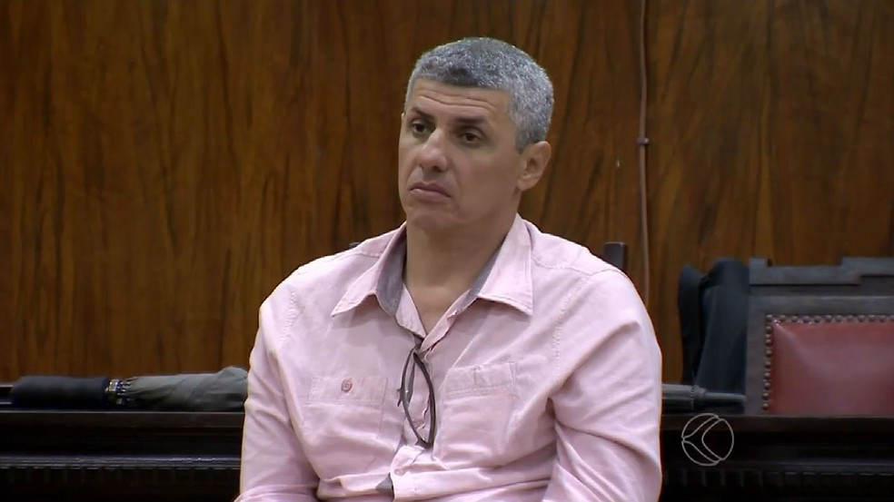Marcos André Cavanellas chegou a ser condenado a 10 anos de prisão em 2015, mas júri foi anulado — Foto: Reprodução/TV Integração