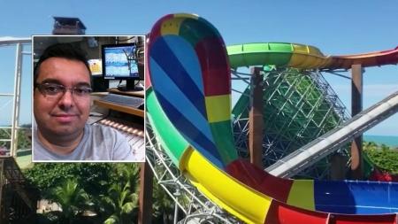 'Não foi uma fatalidade', diz viúva de homem morto em acidente no Beach Park
