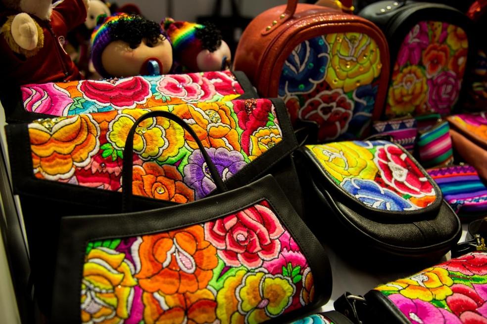 Artesanato peruano será vendido no evento — Foto: Divulgação