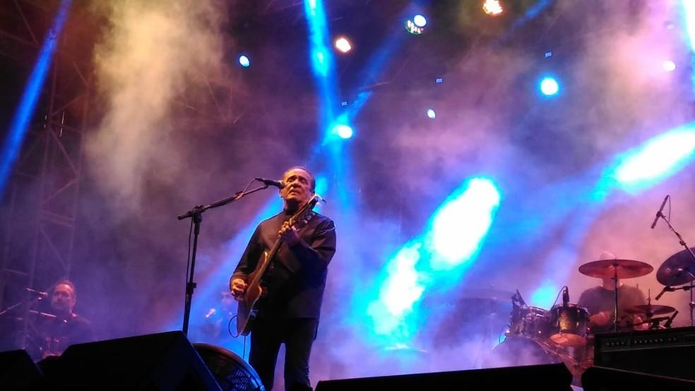 Zé Ramalho fez show na Festa Junina de Sorocaba — Foto: Aline Albuquerque/G1