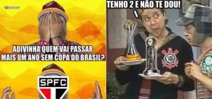 Se o SP levar a Copa do Brasil, só restará a piada do Palmeiras sem Mundial
