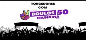 Manifesto de torcedores e torcedoras com Boulos e Erundina