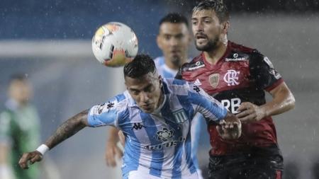 Com transmissão do SBT/TV Jornal,  Flamengo empata com o Racing pela Libertadores