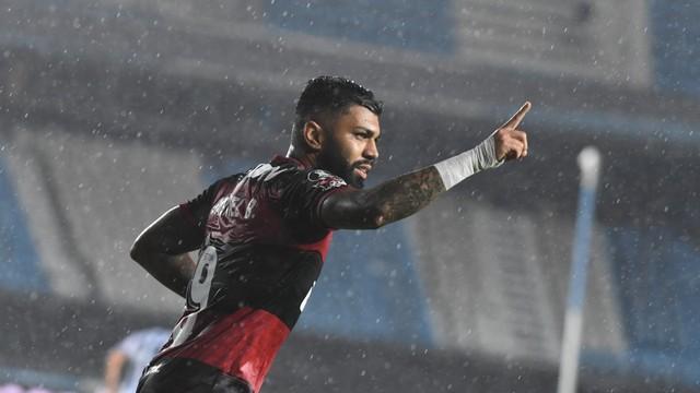 Gabigol voltou a marcar depois de 10 dias fora do Flamengo
