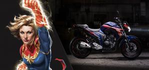 Motos inspiradas em heróis da Marvel? Veja os lançamentos da Yamaha!