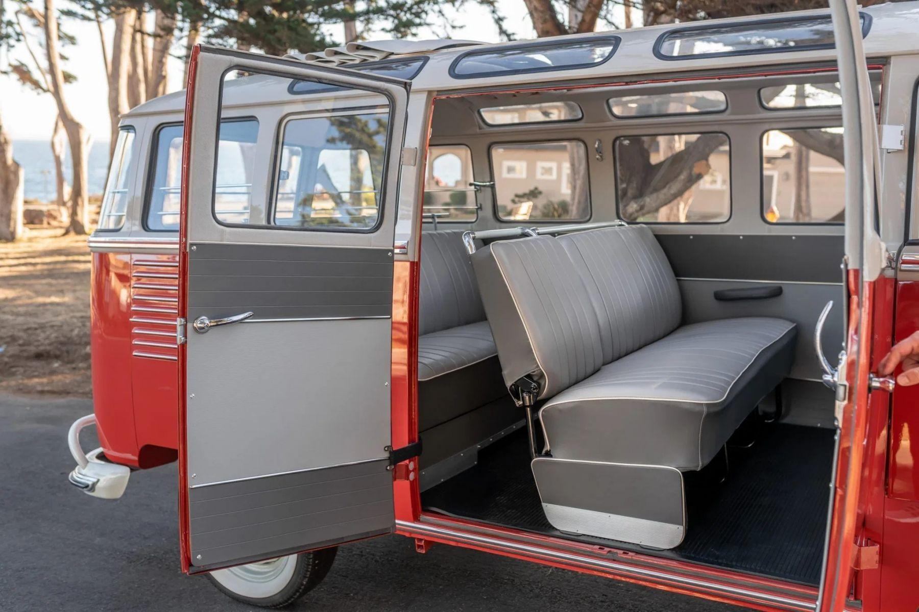 vw kombi 1959 porta lateral