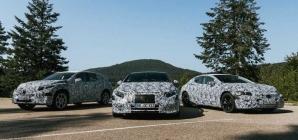 EQS, EQA, EQB… Mercedes mostra em parte os próximos carros elétricos