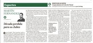 Década perdida para os clubes brasileiros