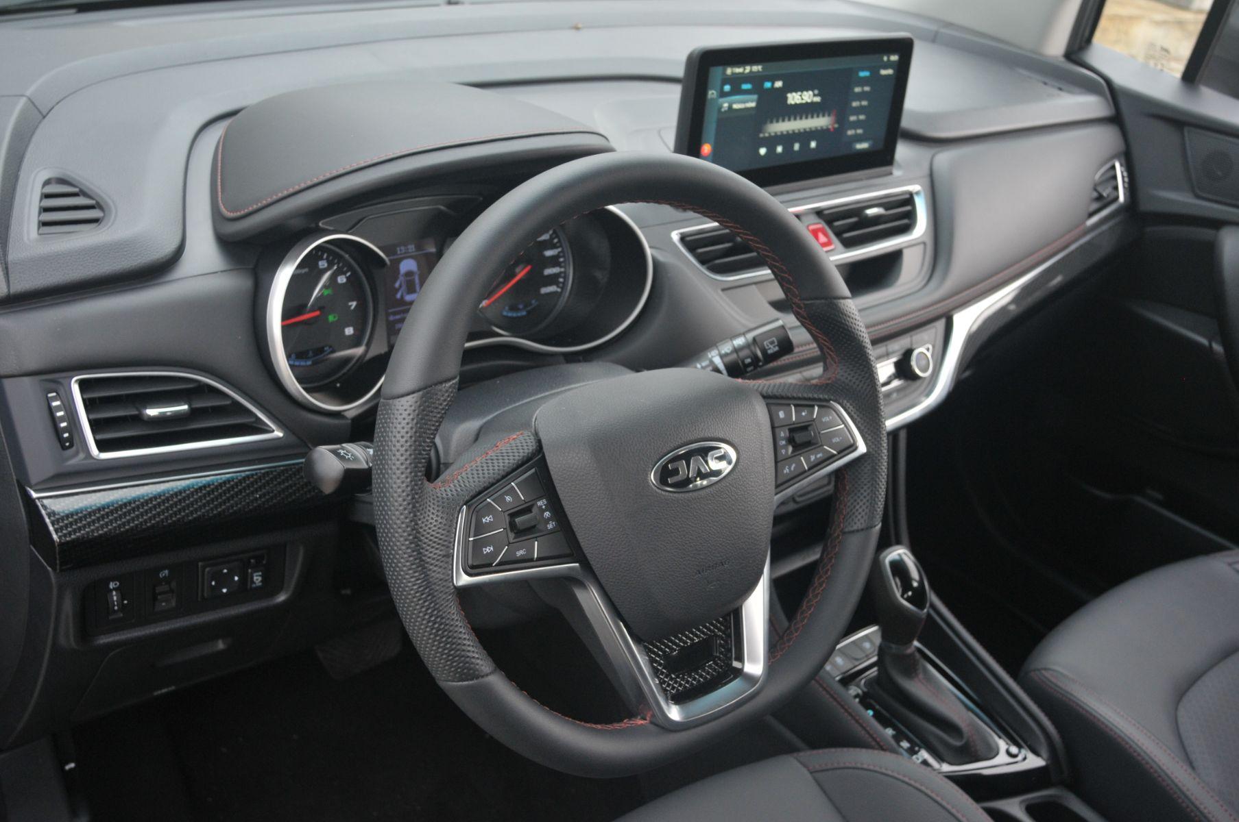 volante do jac t50 2021