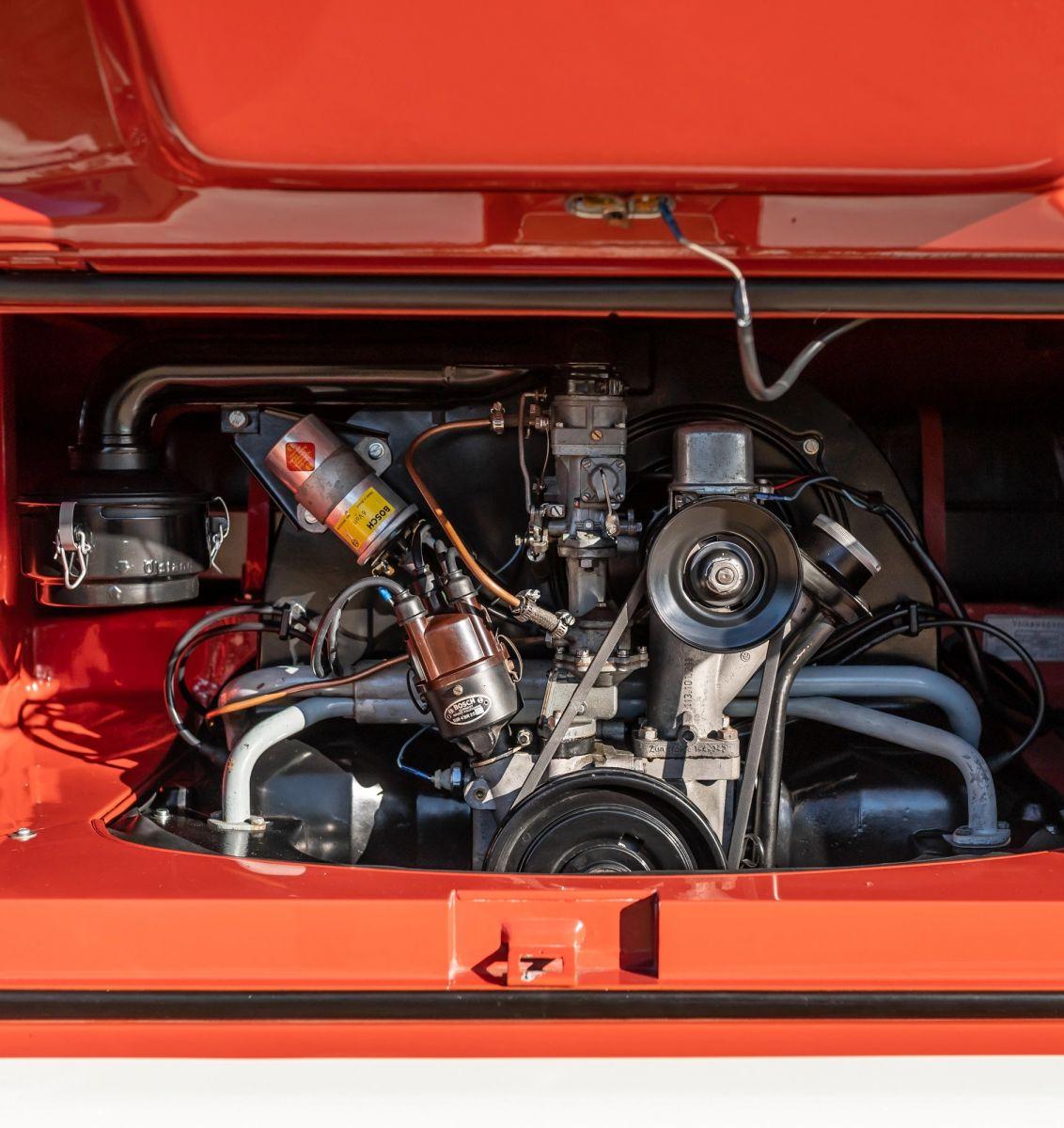 vw kombi 1959 motor