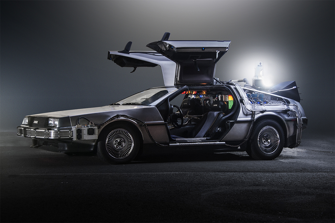 DeLorean em De Volta Para o Futuro