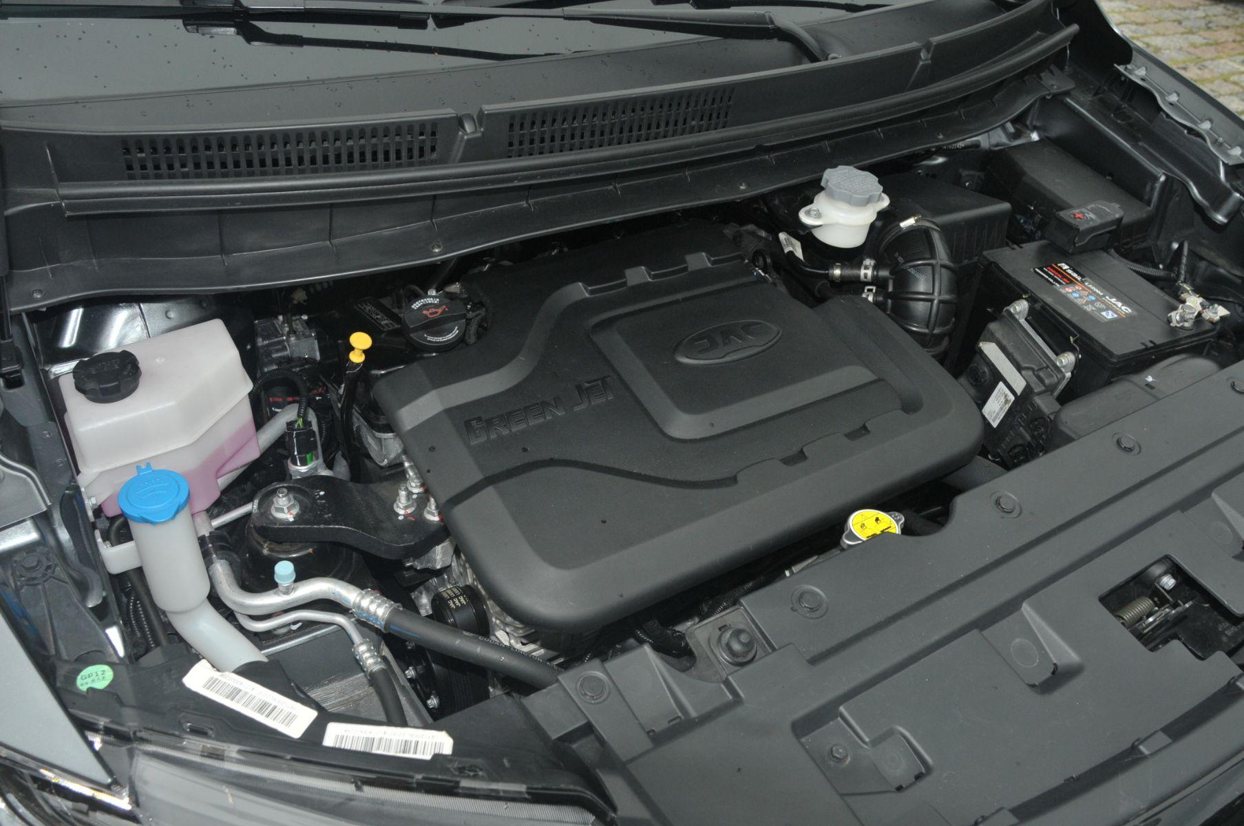 motor 1.6 movido a gasolina do jac t50