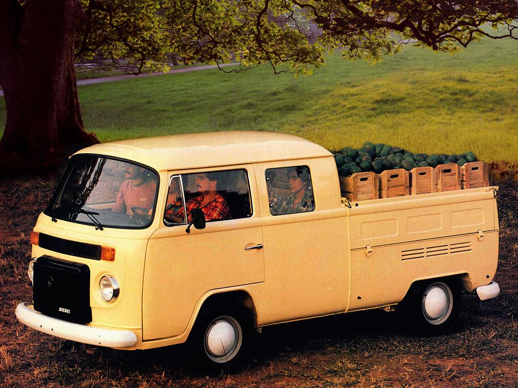 carros raros volkswagen kombi double cabine pickup 1