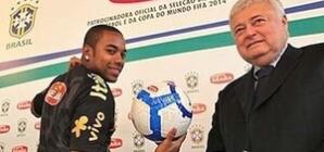 Robinho, como Ricardo Teixeira e Del Nero