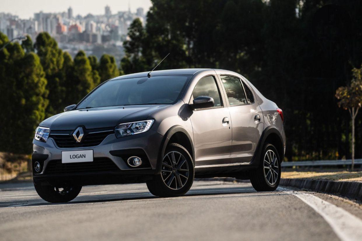 Renault Logan CVT cinza