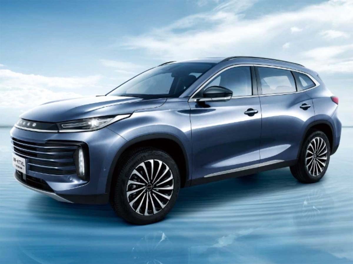 exeed txl azul lateral suv premium chines