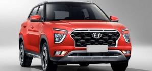 Novo Hyundai Creta de 7 lugares deixa escapar mais detalhes; veja flagra