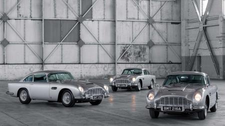 Aston Martin volta a produzir o DB5 de James Bond em série limitada