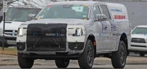 Flagra: Nova Ford Ranger 2023 aparece pela 1ª vez com estilo da F-150