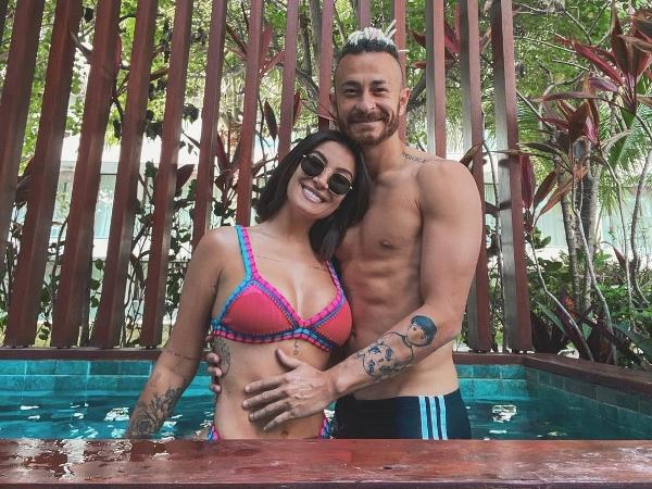 Boca Rosa e Fred anunciaram gravidez no fim do ano passado