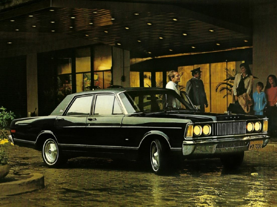 ford landau carros antigos v8