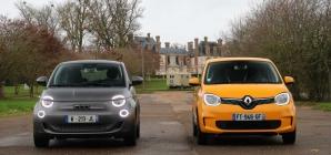 Comparativo: Fiat 500 elétrico ou Renault Twingo ZE?