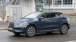 Mercedes divulga 1ª foto interna do elétrico EQA, que estreia em 20 de janeiro