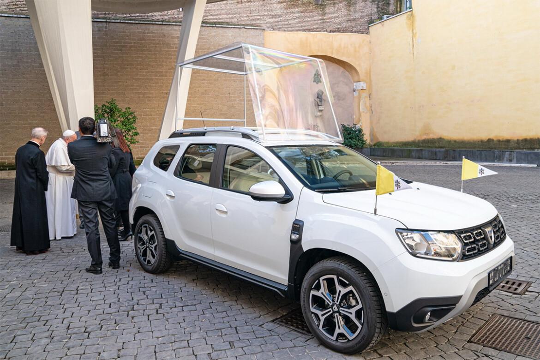Dacia Duster papamóvel
