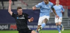 Gabriel Jesus marca e City bate Borussia Mönchengladbach na Liga dos Campeões