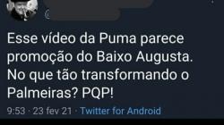 Palmeiras repudia ataques racistas contra campanha de lançamento do novo uniforme