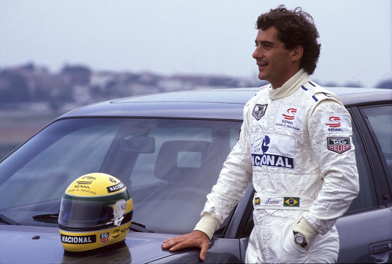 Senna e o Audi S2 1994