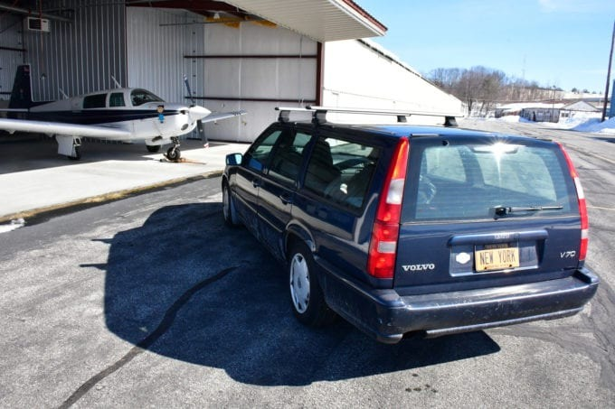 volvo v70 perua station wagon placa new york 2