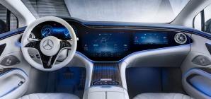Mercedes EQS: sedã elétrico tem o interior revelado