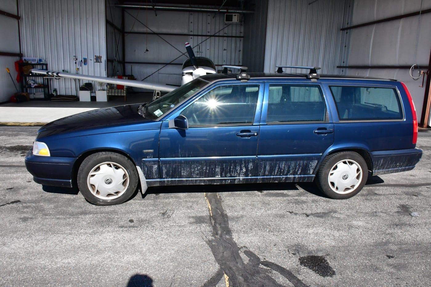 volvo v70 perua station wagon placa new york 3
