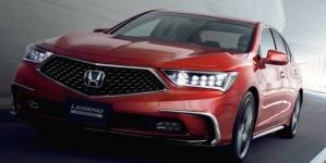 Honda Legend dirige sozinho em certas condições no Japão