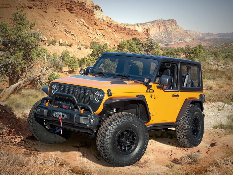 Jeep Orange Peelz Easter Safari 2021