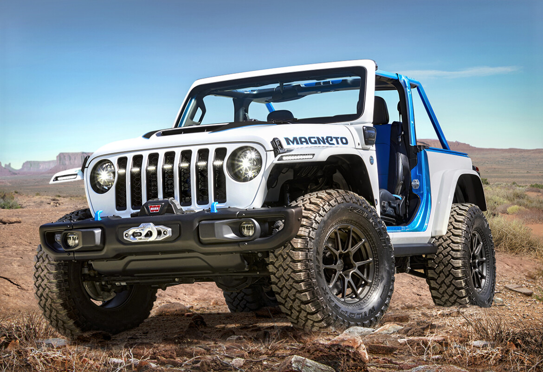Jeep Wrangler Magneto Easter Safari 2021