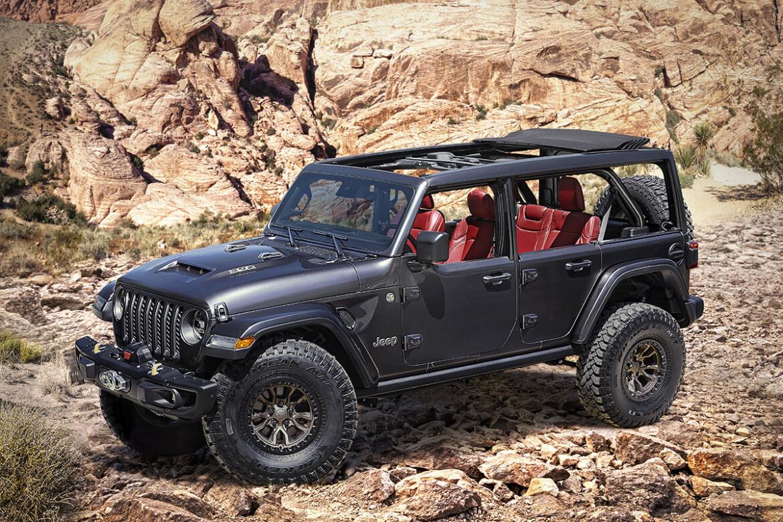Jeep Wrangler Rubicon 392 Concept Easter Safari 2021